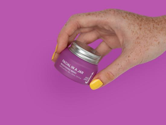 Skin Juice | Facial In A Jar - Brightening Berry Exfoliating Gel