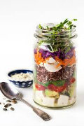 Salad in a jar(copy)