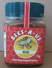 1kg Raw Bush Honey