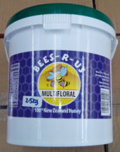 2.5kg Multifloral Honey