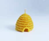 Moulded Beeswax Candle - Skep