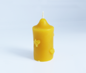 Moulded Beeswax Candle
