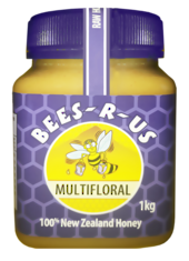 1kg Raw Multifloral Honey