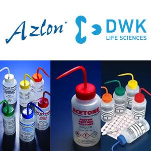 AZLO-DWK Wwash-bottles