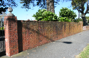 Clean Brick Fences with Bio-Shield