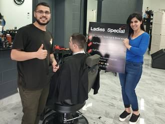 Ladies and Gents Barber Shop