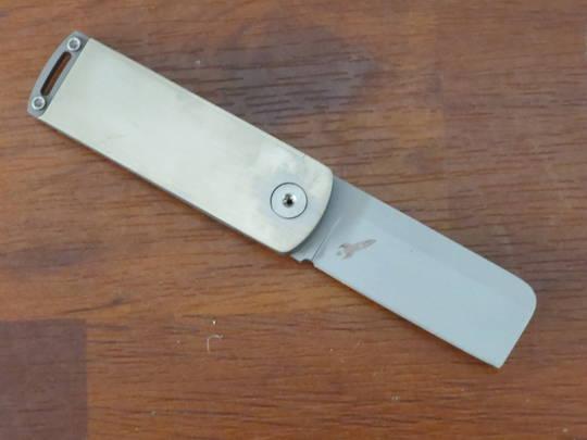 Boker Plus Darriel Caston Rocket Folding Knife , Titanium with SS Back Handle - 01BO264