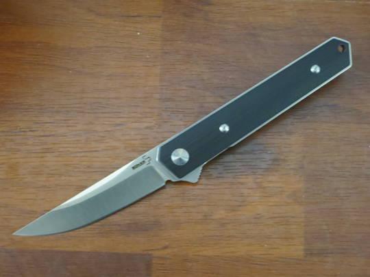 Boker Plus Burnley Kwaiken Mini Flipper Knife D2 Blade, G10 Handles - 01BO268