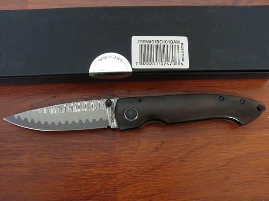 Boker Plus Damascus Gent I Folding Knife