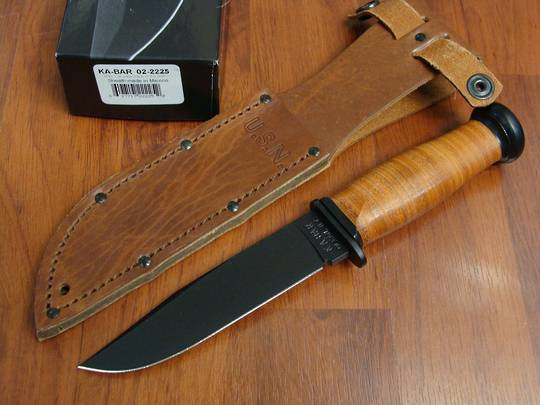 Ka-Bar Mark 1 Fixed Plain Edge Knife