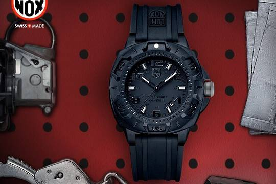 Luminox SENTRY 0201.BO WATCH - BLACK