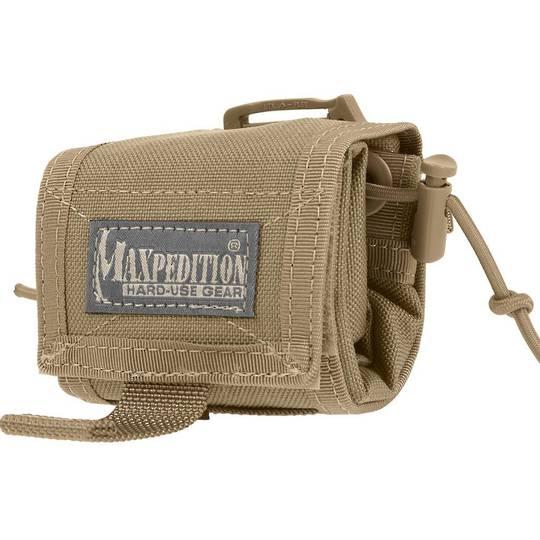 Maxpedition Mega Rollypoly®  Folding Dump Pouch Khaki