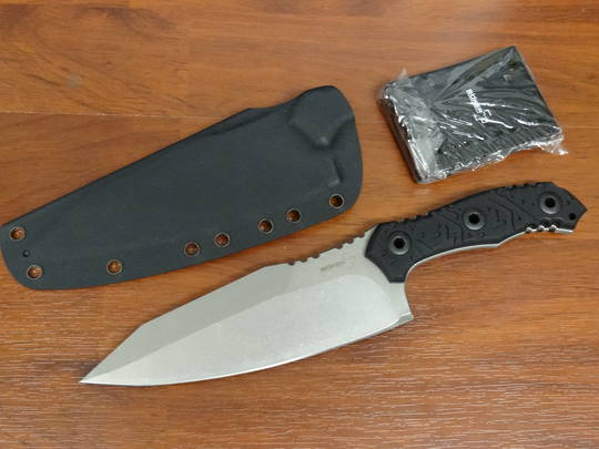 Boker Plus Urbanovsky M2 Fixed Stonewashed, G10 Handles, Kydex Sheath