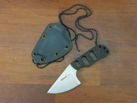 Boker Plus CLB SFB Subcom Fixed Neck Knife, G10 Handles, Kydex Sheath - 02BO321