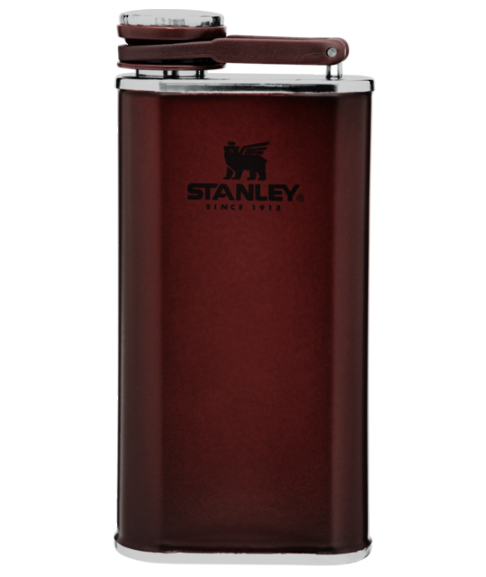 Stanley Classic Easy Fill Wide Mouth Flask 236ml - Wine Red
