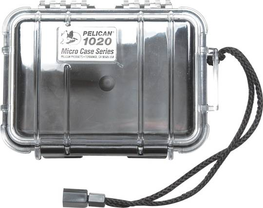 Pelican 1020 Micro Case - Clear
