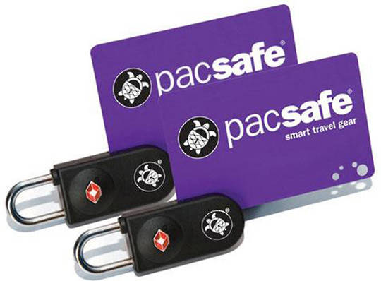 Pacsafe Prosafe 750 - TSA key-card lock 2 PACK