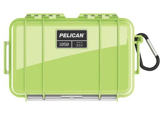 Pelican Micro Case Bright Green 1050BGRBLK