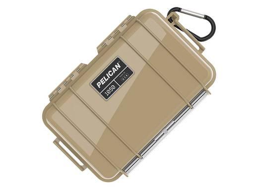 Pelican Micro Case Tan 1050TANBLK