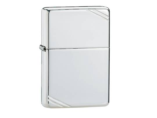 Zippo Sterling Silver Vintage with Slashes Lighter - 14