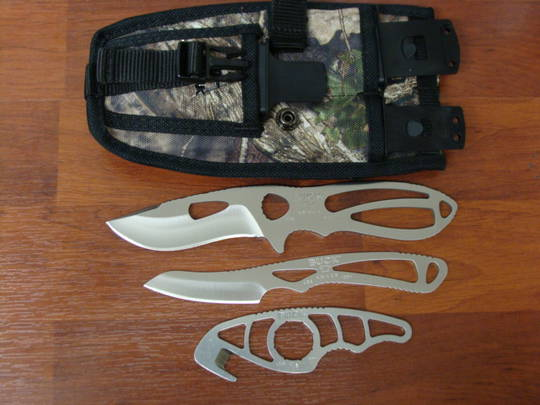 Buck Paklite Field Master Set of 3
