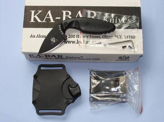 Ka-bar TDI Law Enforcement Knife - plain