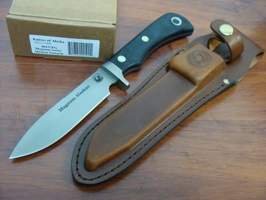 Knives of Alaska Magnum Alaskan Suregrip Knife - 157FG