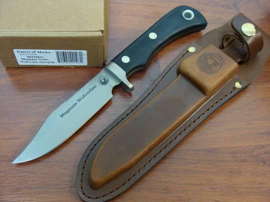 Knives of Alaska Magnum Wolverine Suregrip Knife - 158FG