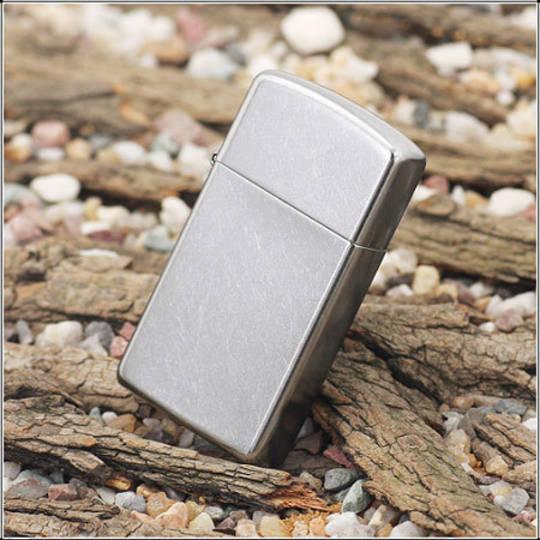 Zippo Slim Street Chrome Lighter