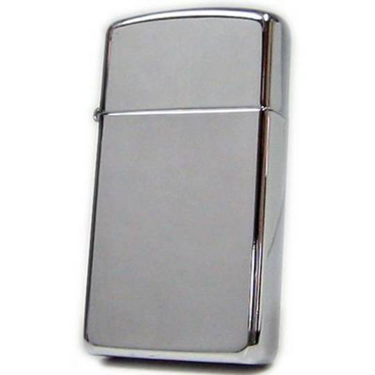 Zippo Slim High Polish Chrome Lighter