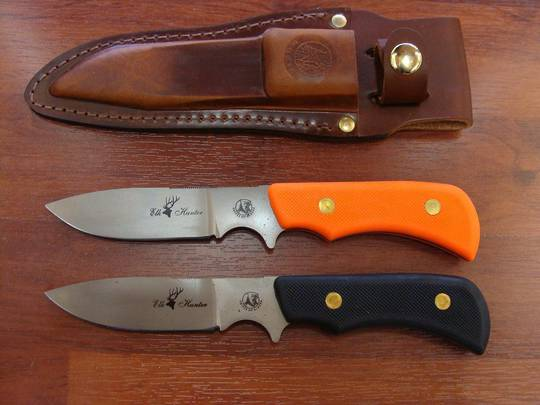 Knives of Alaska Trekker Series Elk Hunter Black handle - 161FG