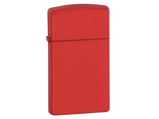 Zippo Slim® Red Matte Lighter