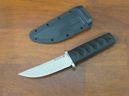 """Cold Steel Kyoto II Boot Knife Fixed 3.25"""" Reinforced Point, Kray-Ex Handle, Secure-Ex Sheath"""