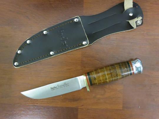 Linder Traveller I Hunting knife 190011