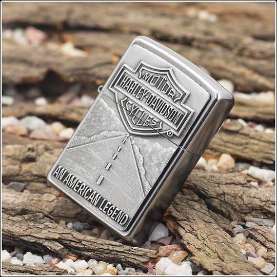 Zippo Harley Davidson American Legend Emblem Lighter