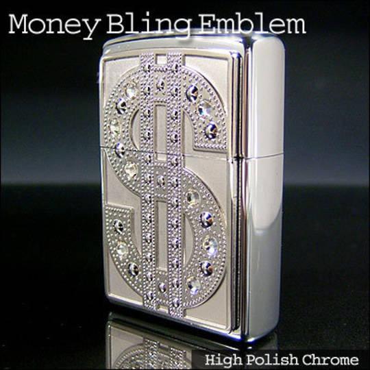 Zippo Bling Emblem Lighter
