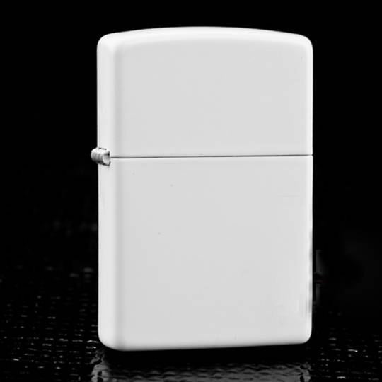 Zippo White Matte Lighter