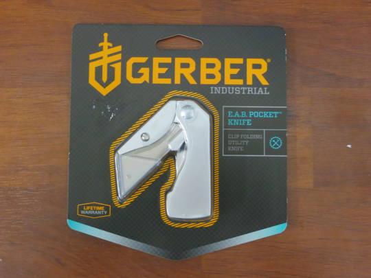 Gerber Exchange-A-Blade EAB Folding Knife
