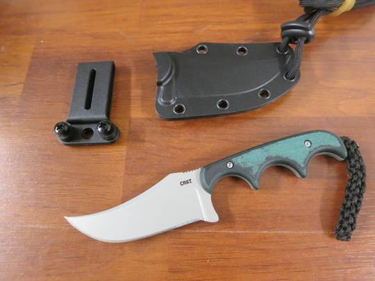 CRKT 2379 Alan Folts Minimalist Persian Fixed Blade Neck Knife