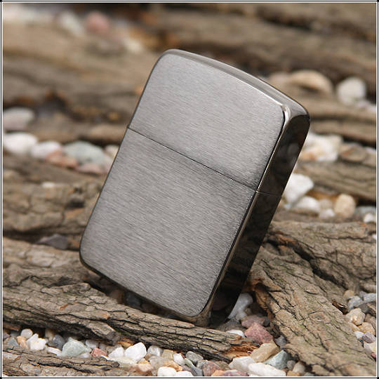 Zippo 1941 Replica Black Ice Lighter