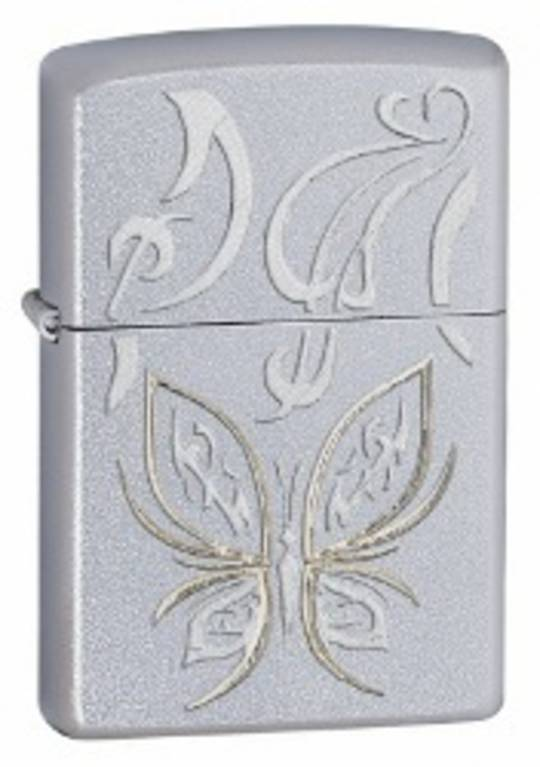 Zippo Golden Butterfly Lighter