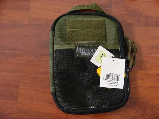 Maxpedition E.D.C Pocket Organizer ~Green