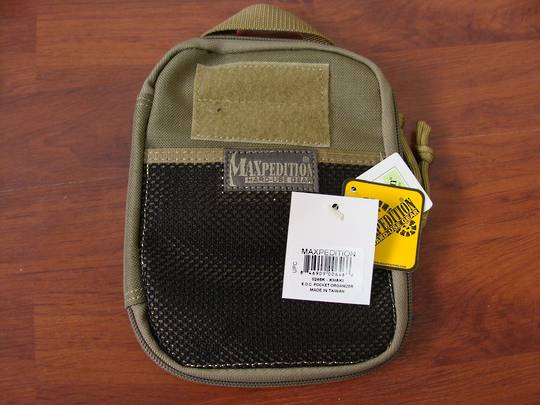 Maxpedition E.D.C Pocket Organizer ~Khaki