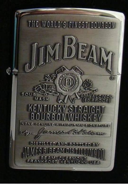 Zippo Jim Beam Emblem Lighter