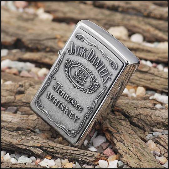 Zippo Jack Daniels Emblem Lighter