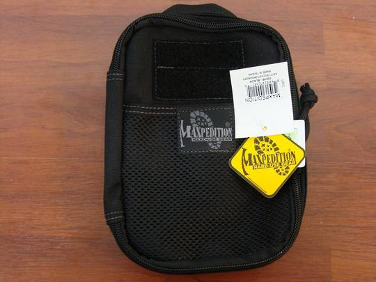 Maxpedition Fatty Pocket Organizer ~ black