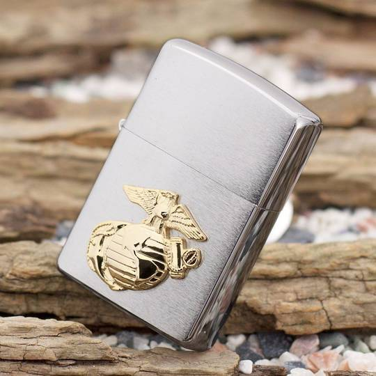 Zippo US Marines Emblem Lighter
