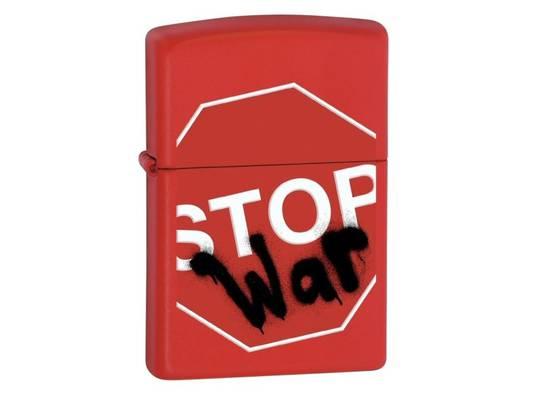 Zippo Stop War 28140
