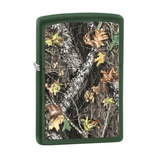 Zippo Mossy Oak Break Up, Green Matte Lighter