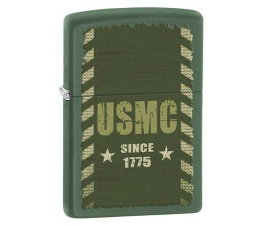 Zippo Marines Green Lighter